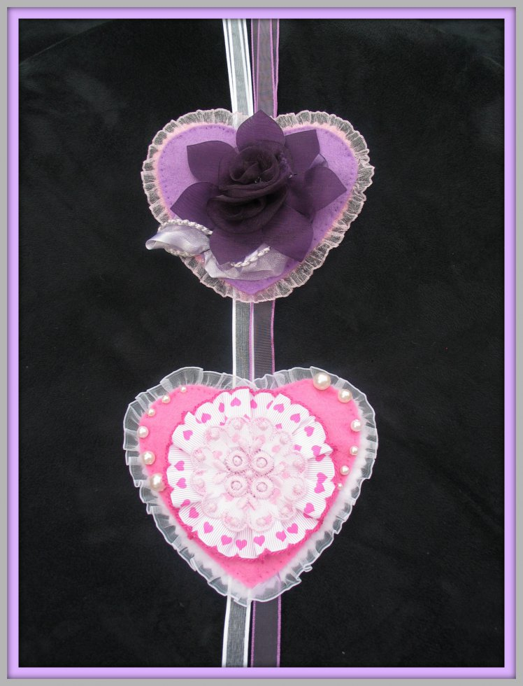 Heart of Purple Rose